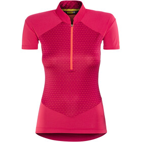 Mavic Sequence Graphic maglietta a maniche corte Donna rosa